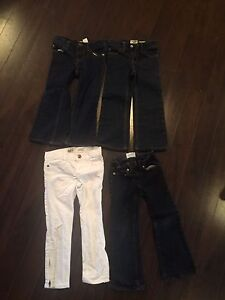Size 4 girls osh kosh and gap jeans