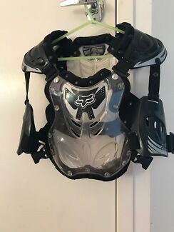 Motorcross roost body protection