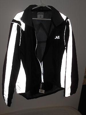 New Men's Proviz Nightrider Jacket Black/Gray Reflective Size Small