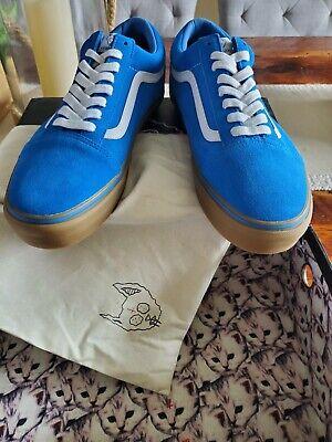Van's X Golf Wang Syndicate First Gen Old Skool Blue/Gum, Men's Size 12 (RARE)