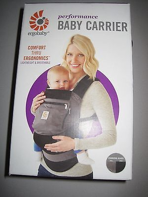 Ergo baby Performance Collection Carrier Charcoal Black