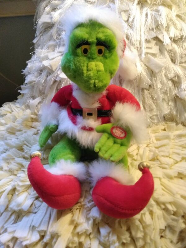 Grinch Who Stole Christmas Animated Plush Moves, Sings