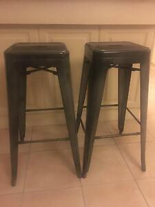 Charcoal bar stools Underdale West Torrens Area Preview