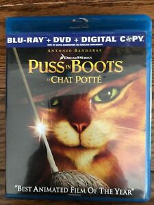 Puss in Boots Bluray