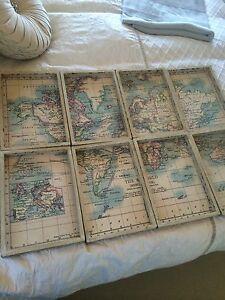 World Mercator Map Set Kingsholme Gold Coast North Preview