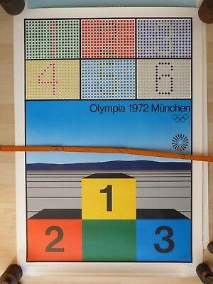 Olympia 1972, München, Plakat Werner Nöfer. Edition Olympia GmbH, München 1972,