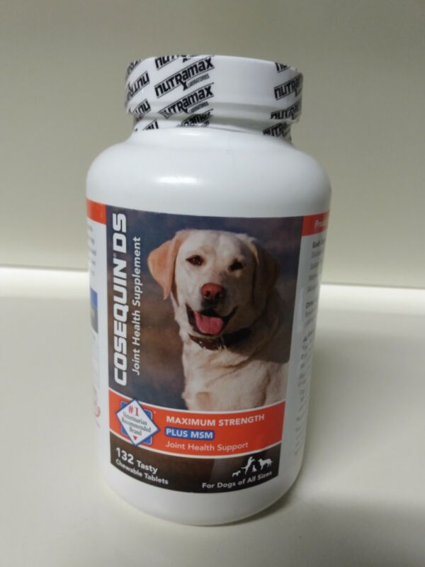 Cosequin DS Maximum Strength + MSM - Dogs All Sizes - 132 Tablets - 03/2023