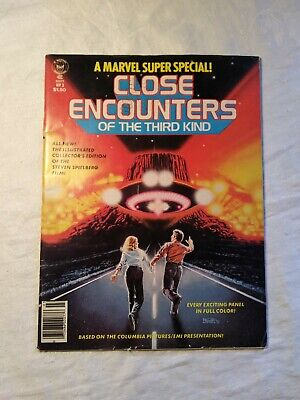 Close Encounters of the Third Kind Marvel Super Special #3 (1978) Simonson Art