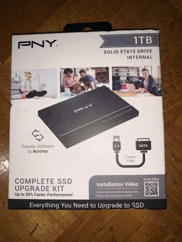 PNY 1TB SSD Internal 1TB KIT for PC/Laptops NEW