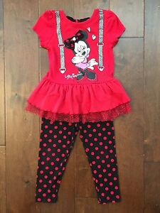 Adorable Minnie Mouse outfit