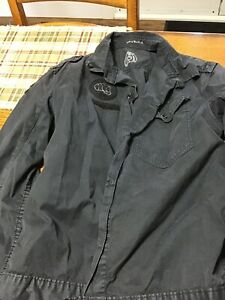 Men's Dark Grey Levi's jacket size medium