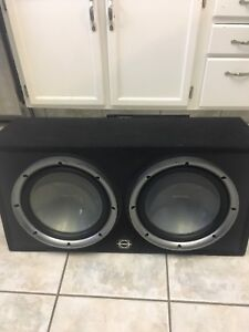 12's and an amp