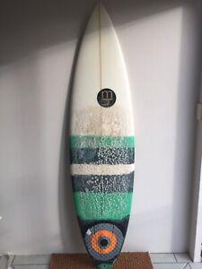 Matt Hurworth Surfboard