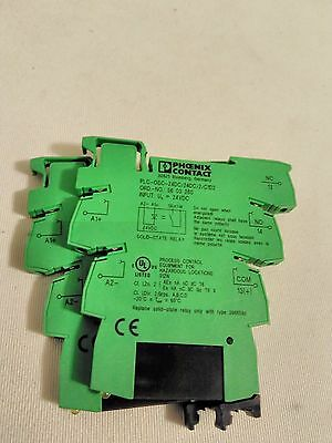 2 X Phoenix Contact Optocoupler 5603260 And Solid State Relay 2966595