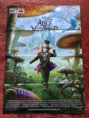Alice im Wunderland Kinoplakat Poster A1, Tim Burton, Walt Disney, Johnny Depp (Alice Im Wunderland Poster)