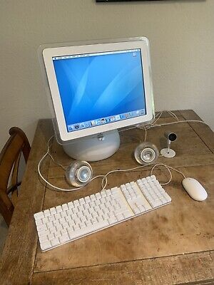 "Apple iMac G4 15"" 700MHZ, 1GB RAM, 40GB HD & boxed iSight Camera - Near Perfect"