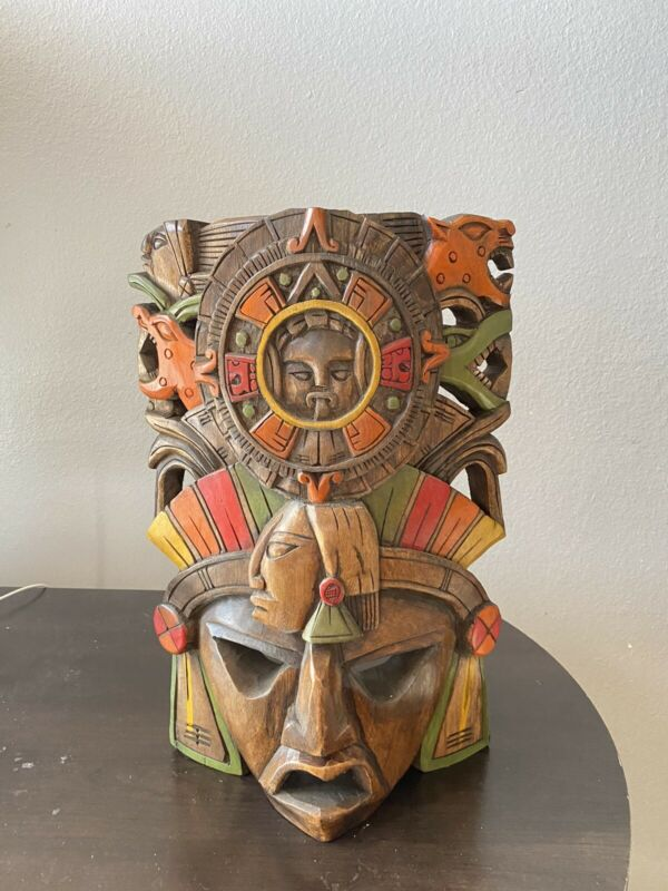 Authentic Hand Carved Mask