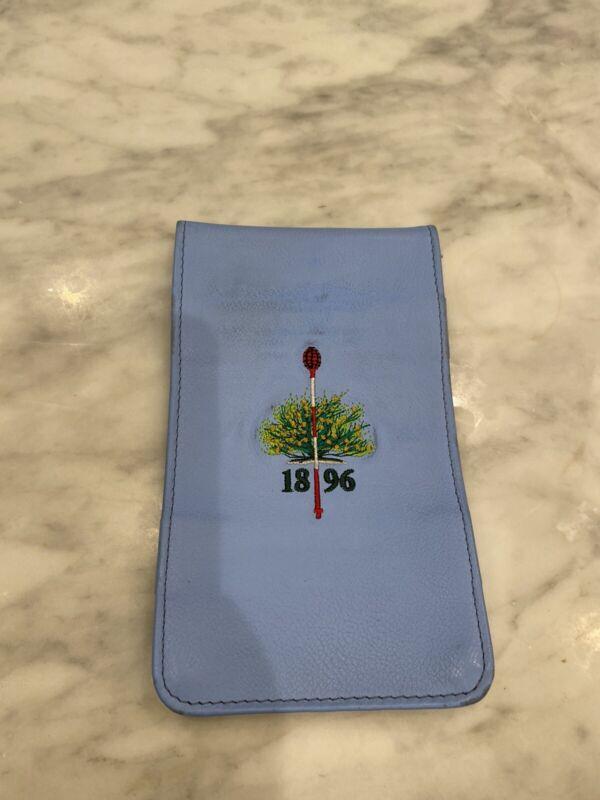 Merion golf club yardage book holder