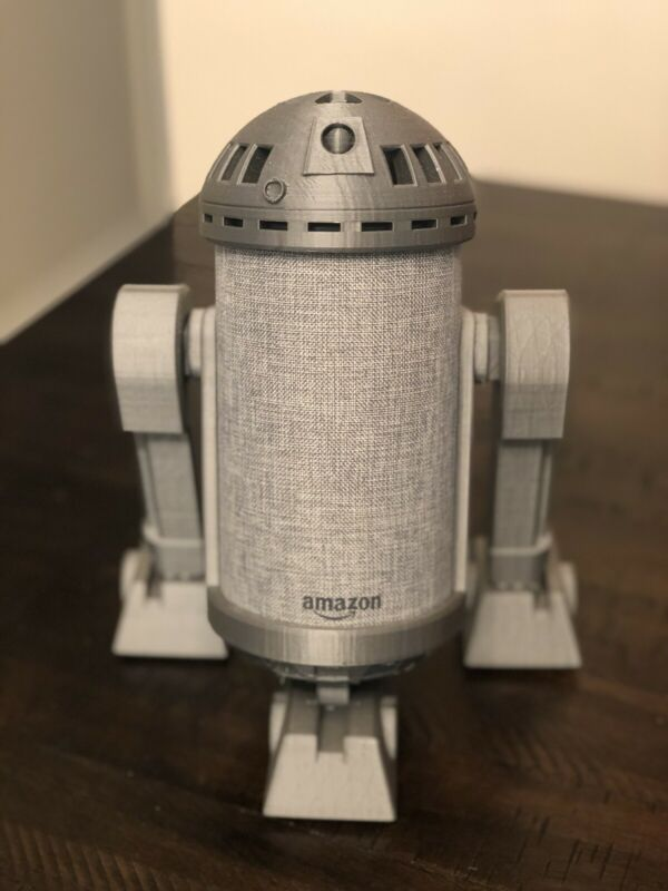 R2D2 Echo Alexa 2nd Generation Base Support