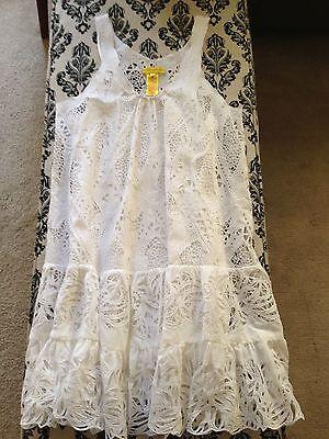 Destination Wedding & Honeymoon!! Catherine Malandrino White Lace Dress NWOT