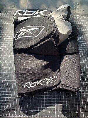 7718a63f3c9 Hockey Padded Girdle Rbk Reebok JR-L Black
