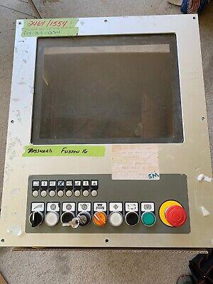2005 Biesse Selco 108 Ebt Panel Saw Keyboard Operator Interface Mmi Panel