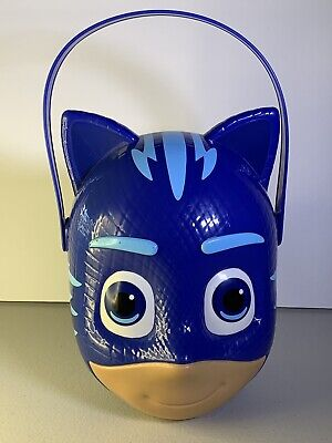 Creative Halloween Ideas (Halloween/Party Favors PJ Masks Catboy Molded Plastic Bucket Blue M-20)