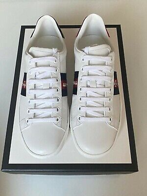 Gucci Ace Sneakers w/ removable bow