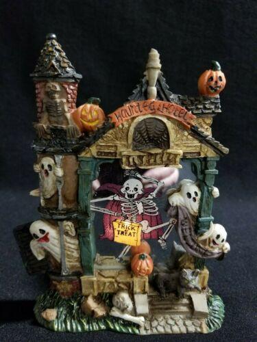 Halloween Decoration Haunted House Votive Tea Lite Candle Holder Ghost Skeleton