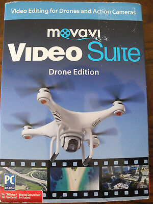 (Movavi Video Suite Drone Edition: Video Editing Suite for Drone Camera Footage)