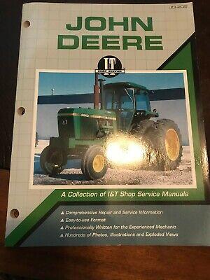 John Deere 2040 2240 2510 2520 4040 4840 It Tractor Service Manual Jd-202