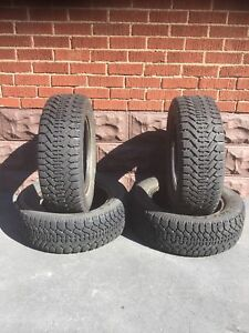 GOODYEAR NORDIC WINTER TIRES  205 60 R15