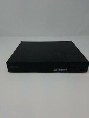 Sony BDP-S5500 Blu-ray Player Used - For Parts - No Cords (Screen Mirroring For Sony Blu Ray Player)