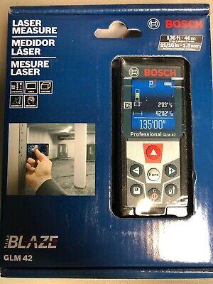 Bosch Laser Measure Glm42 Blaze New Sealed