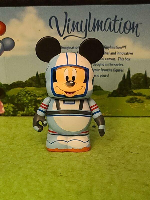 "DISNEY Vinylmation 3"" Park Set 14 Mission Space Astronaut Mickey Mouse Topper"