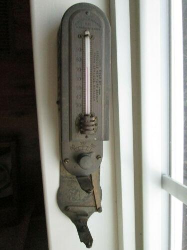 Antique Electric Heat Regulator Co. Minneapolis Minn Thermostat C1907 W Clock
