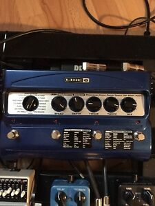 Line 6 MM4 Modulation Modeler with PX-2g Power Supply