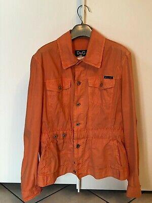 Vintage giacca estiva Dolce & Gabbana D&G arancione Vintage women Jacket by D&G