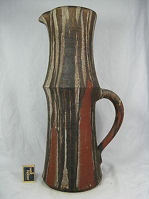Rare XXL Gerhard Liebenthron Keramik art pottery jug vase / Krugvase GL 79 50 cm