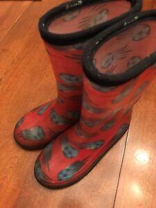 Bottes de pluie rouge Kamik