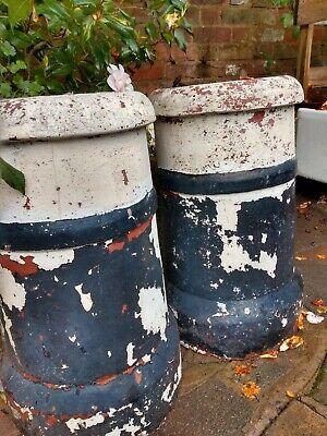 Antique Chimney Pots x 2