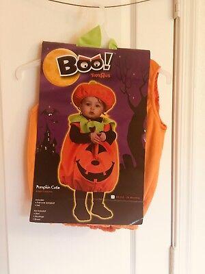 Boo! Pumpkin Cutie Pie Infant/Toddler Baby Girls Halloween Costume 12-24 - Pumpkin Pie Costume