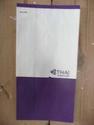 Thai Air Barf Bag, Air Sickness Bag