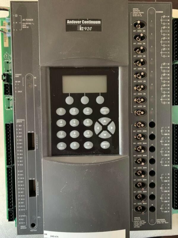 Schneider Electric Andover Controls I2920-D System Controller 115-230v-ac