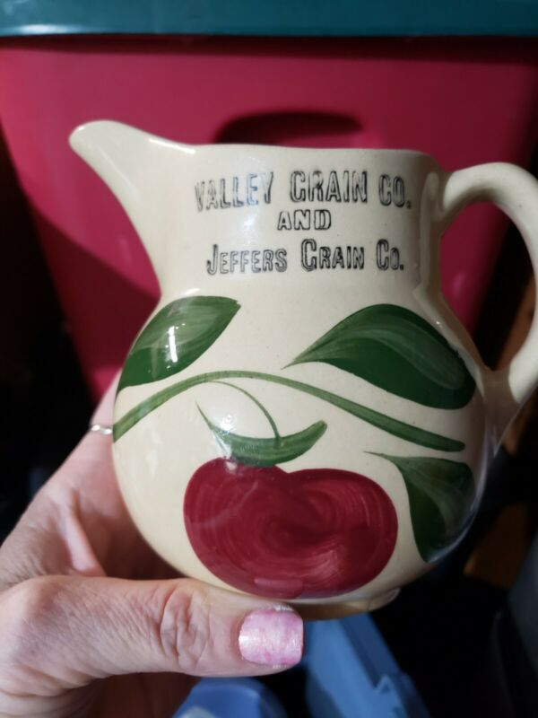 Watt wattware creamer small pitcher. Apple design and advertising for Valley...