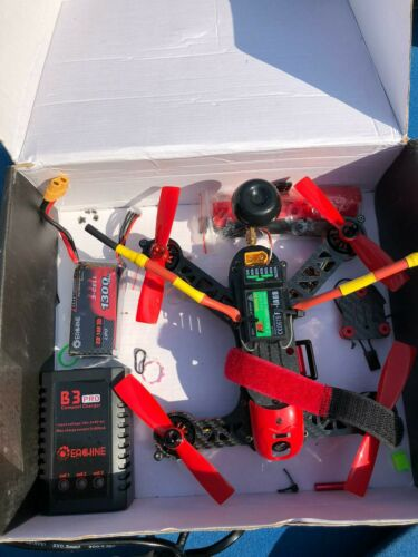 Eachine eb185 brushless fpv racing drone flysky bnf