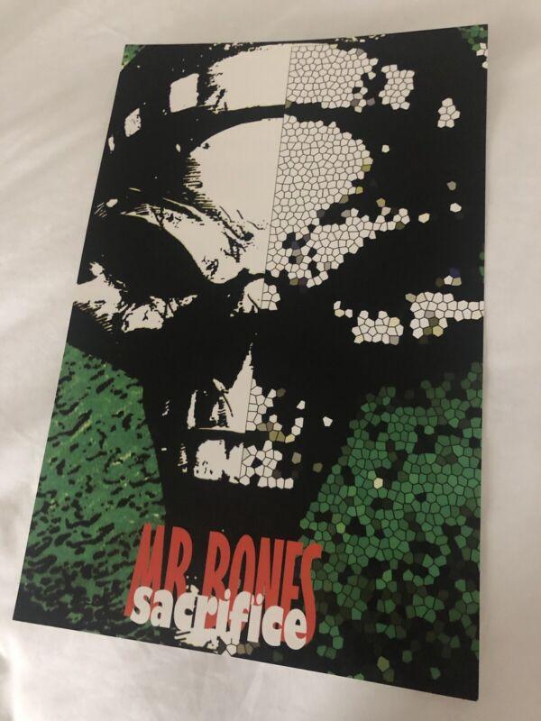 VERY RARE Mr. Bones Sacrifice Promo Poster House of Krazees HOK Detroit ICP vtg