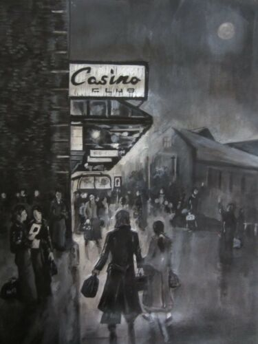 Northern Soul; Wigan Casino The Black and White Set, 5 A4 signed prints