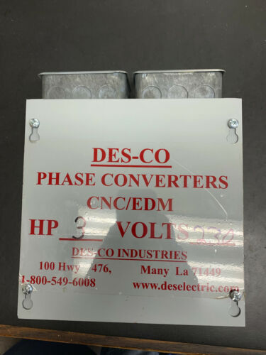 3 HP Phase Converter Panel