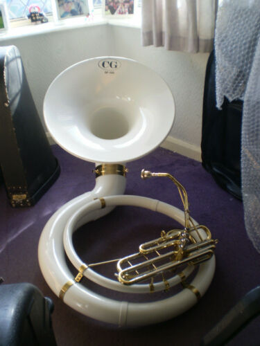 Sousaphone Bb Coppergate with case etc